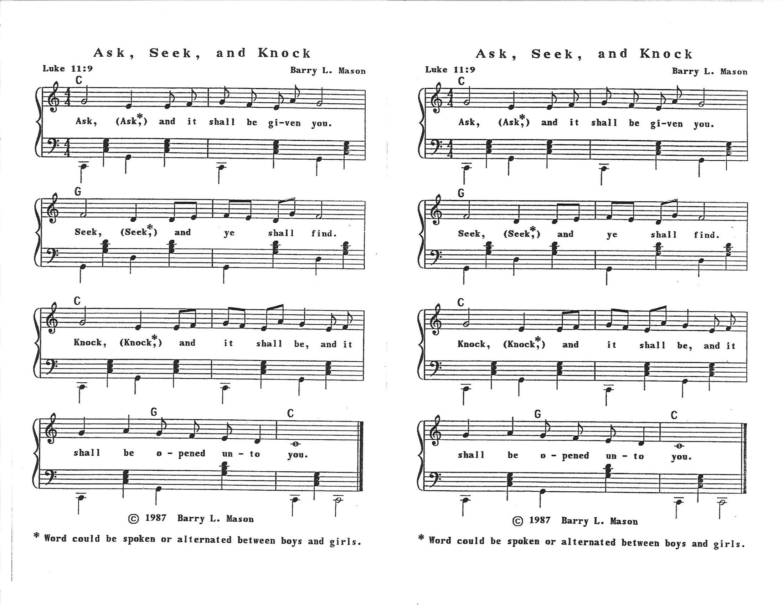 Seek ye first (download) – maranatha! Music.